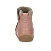 Dětské kožené kozačky s kožíškem froddo, růžová, 194-5604 - 15
