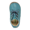 Modrá dětská kožená kotníčková obuv froddo, modrá, 114-9607 - 17