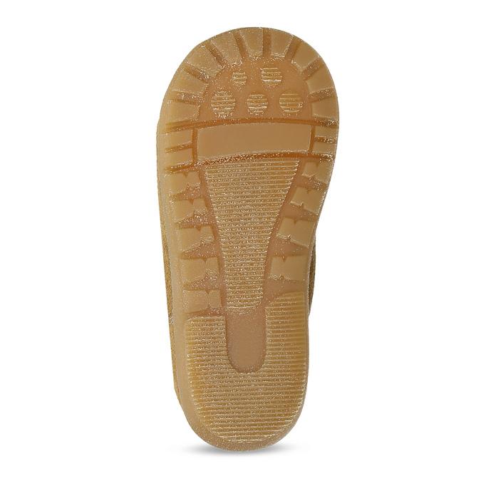 Dětská kožená zimní obuv se zateplením richter, hnědá, 123-8613 - 18