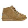 Dětská kožená zimní obuv se zateplením richter, hnědá, 123-8613 - 19