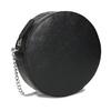 Kulatá černá Crossbody kabelka s řetízkem bata, černá, 964-4628 - 13