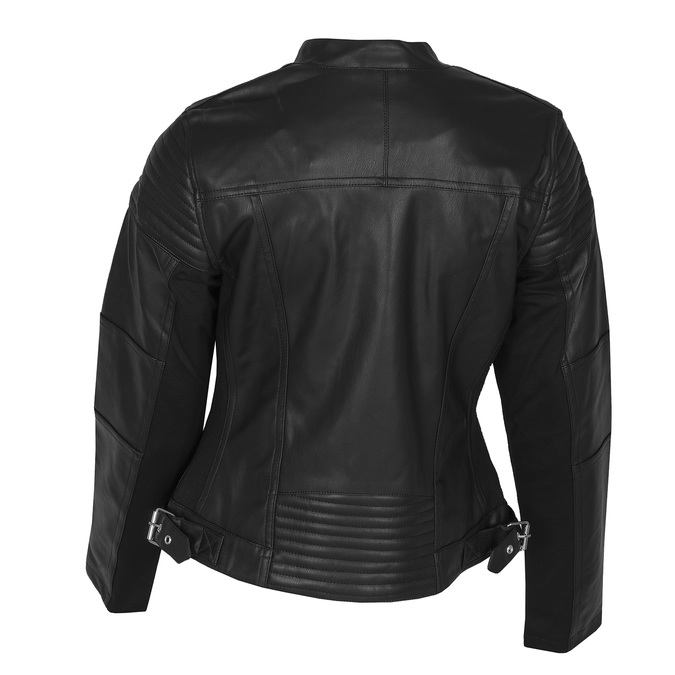Černá dámská bunda ve stylu křiváku bata, černá, 971-6144 - 26