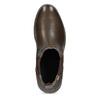 Kožená pánská kotníčková Chelsea obuv pikolinos, hnědá, 896-4816 - 17