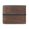 Hnědá pánská kožená peněženka bata, hnědá, 944-4627 - 16
