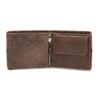 Hnědá pánská kožená peněženka bata, hnědá, 944-4627 - 15