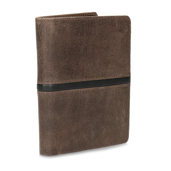 Pánská hnědá peněženka bata, hnědá, 944-4628 - 13