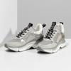 Dámské tenisky ve stylu Chunky Sneakers bata, šedá, 541-2612 - 16