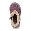 Fialové dětské kozačky se zateplením bubblegummers, fialová, 191-9605 - 17
