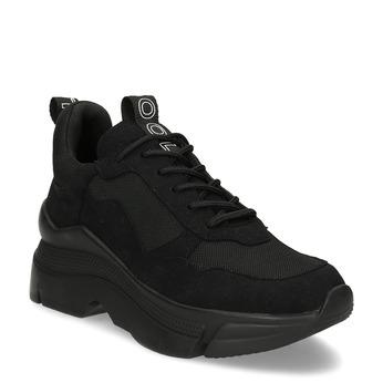 Černé dámské tenisky ve stylu Chunky Sneakers bata, černá, 541-6612 - 13
