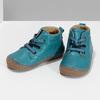 Modrá dětská kožená kotníčková obuv froddo, modrá, 114-9607 - 16