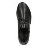 Dámská černá kožená kotníčková obuv comfit, černá, 594-6707 - 17