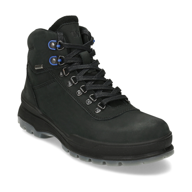 Pánská Outdoor obuv z broušené kůže weinbrenner, černá, 896-6755 - 13