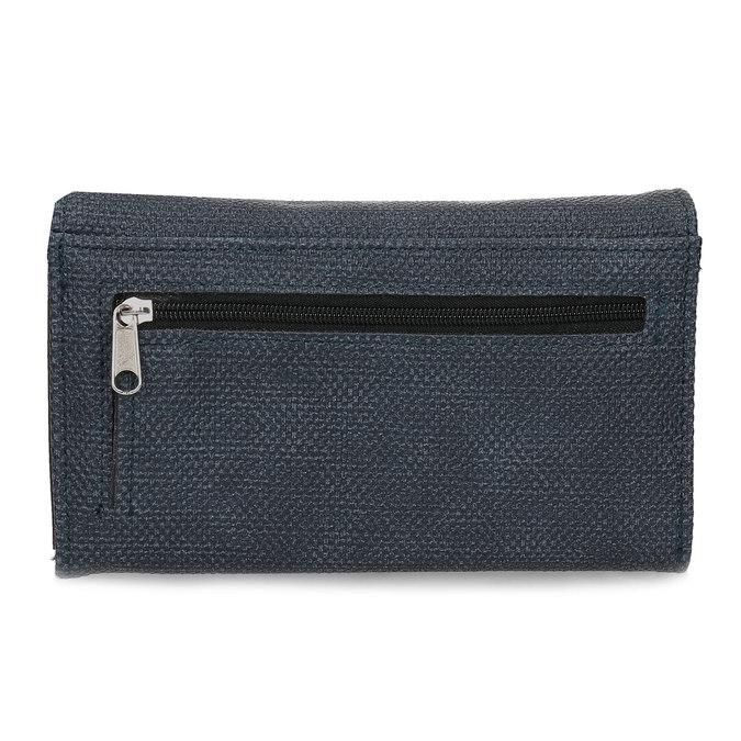 Modrá dámská peněženka bata, modrá, 941-9617 - 16