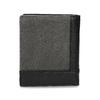 Černá kožená peněženka s šedou částí bata, černá, 944-2622 - 16