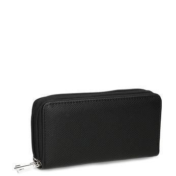Dámská černá peněženka na zip bata, černá, 941-6618 - 13