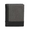 Černá kožená peněženka s šedou částí bata, černá, 944-2622 - 26