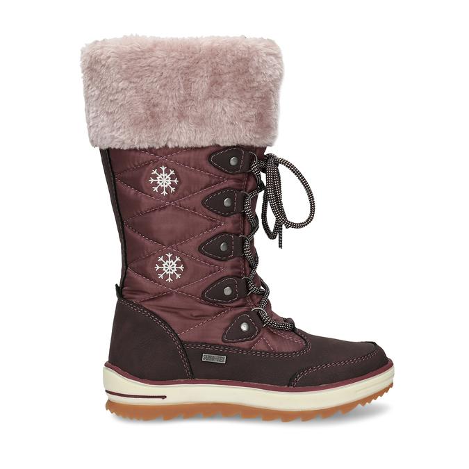 Dětské sněhule s prošíváním a zateplením mini-b, červená, 399-9612 - 19