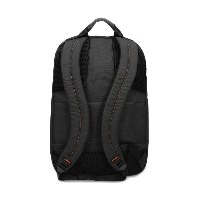 Černý textilní cestovní batoh samsonite, černá, 960-6066 - 16