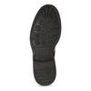 Pánská kožená kotníčková obuv se zateplením bata, modrá, 896-9749 - 18