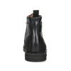 Kotníčková pánská kožená obuv bata, černá, 896-6768 - 15