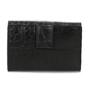 Dámská kožená peněženka se strukturou bata, černá, 944-6617 - 16