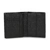 Kožená černá peněženka s modrou částí bata, černá, 944-9622 - 15