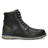 Pánská černá kožená zimní obuv bata, černá, 896-6746 - 19