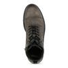 Kožená pánská kotníčková obuv bata, hnědá, 896-4752 - 17