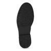Pánská černá kožená kotníčková obuv bata, černá, 896-6752 - 18