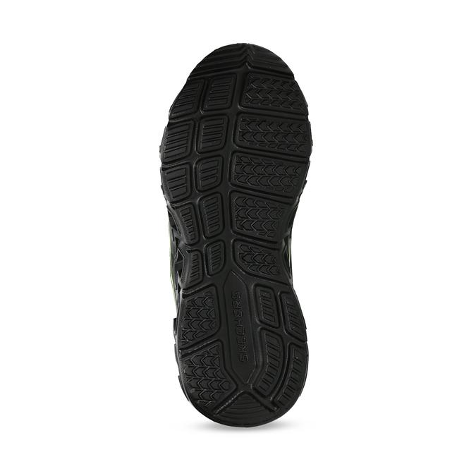 Černá dětská kotníčková zimní obuv skechers, černá, 399-6112 - 18