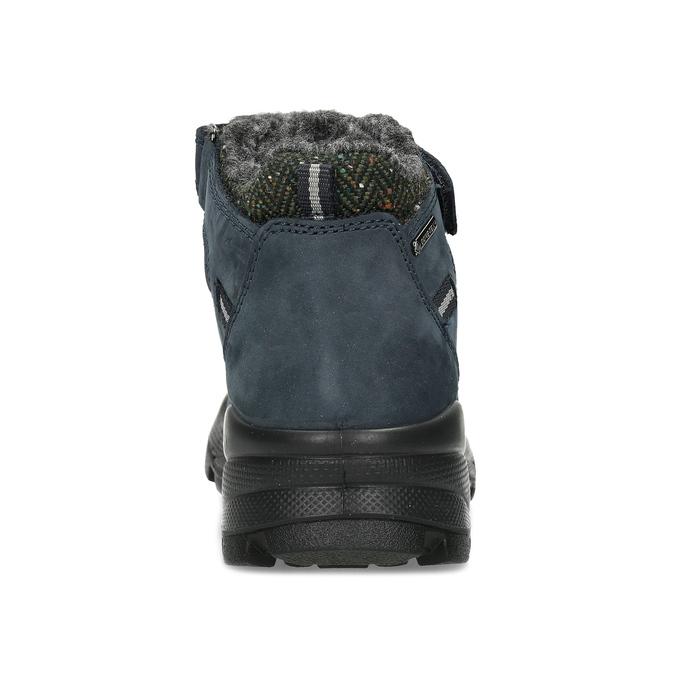 Modrá dětská zimní obuv z broušené kůže primigi, modrá, 416-9645 - 15