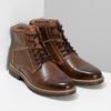 Pánská hnědá kotníčková zimní obuv bata-red-label, hnědá, 891-3610 - 26