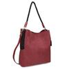 Červená dámská kabelka s popruhem bata, červená, 961-5816 - 13
