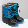 Modré dětské sněhule se zateplením bubblegummers, modrá, 392-9601 - 26