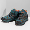 Modrá dětská kotníčková Outdoor obuv weinbrenner, modrá, 419-9621 - 16
