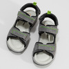 Chlapecké šedé sandály kožené weinbrenner, šedá, 463-2608 - 16