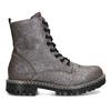 Metalická dámská kožená kotníčková obuv bata-125th-anniversary, hnědá, 549-4604 - 19