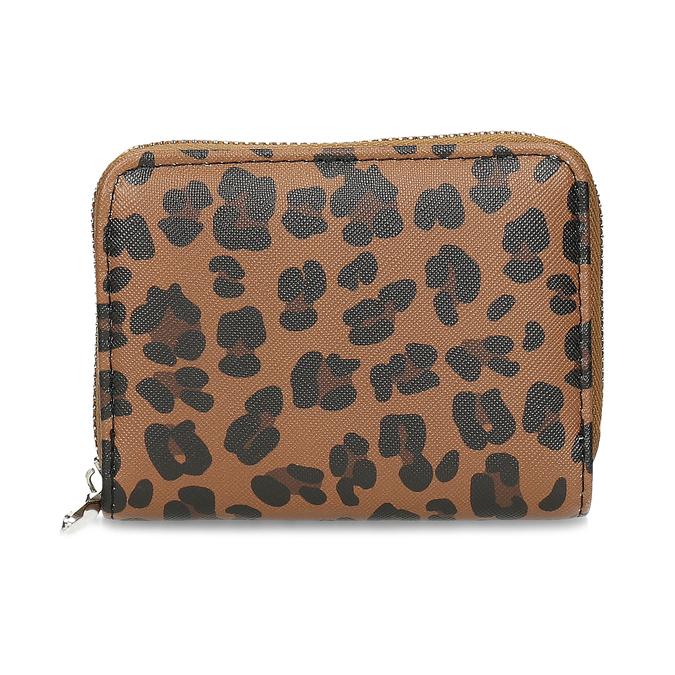 Dámská peněženka s leopardím vzorem bata, vícebarevné, 941-0621 - 26