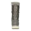 Metalické dámské sněhule s úpletem bata, bronzová, 599-8634 - 15
