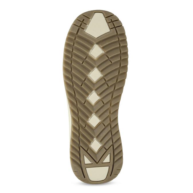 Metalické dámské sněhule s úpletem bata, bronzová, 599-8634 - 18