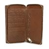 Dámská hnědá kožená peněženka bata, hnědá, 944-3616 - 15