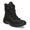 Černé pánské kožené sněhule weinbrenner, černá, 899-6602 - 13