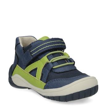 Modrá dětská kotníčková obuv bubblegummers, modrá, 111-9634 - 13