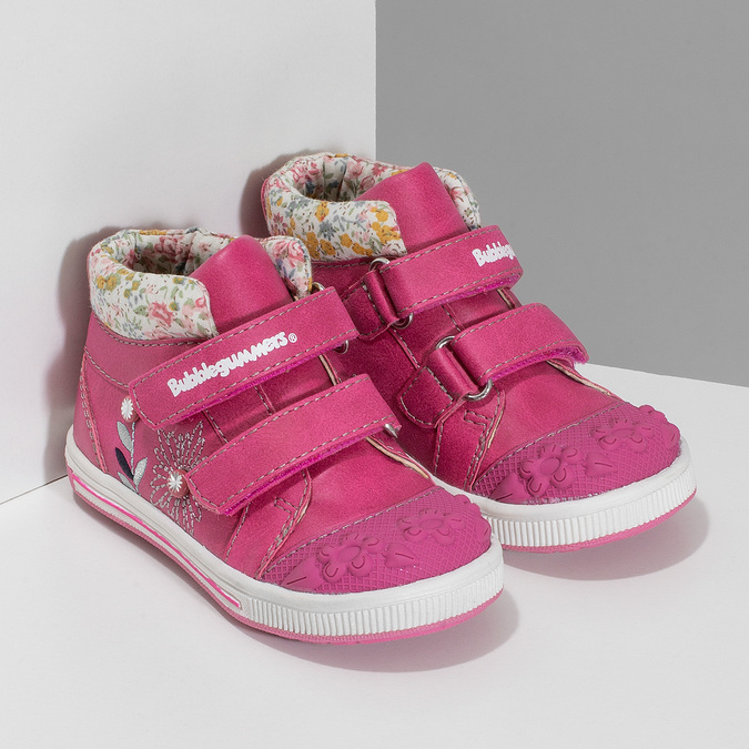 Růžová dětská kotníčková obuv bubblegummers, růžová, 121-5624 - 26