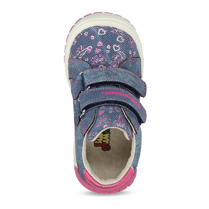 Modrá dětská kotníčková obuv bubblegummers, modrá, 121-9625 - 17