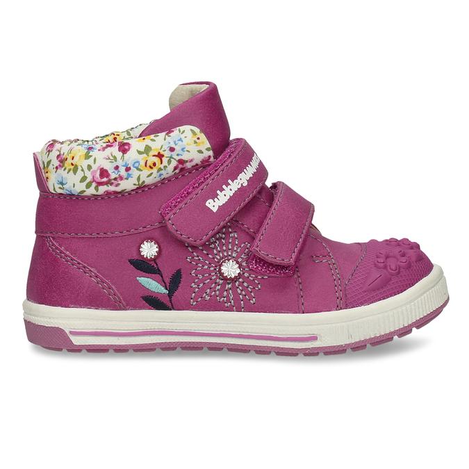 Růžová dětská kotníčková obuv bubblegummers, růžová, 121-5624 - 19