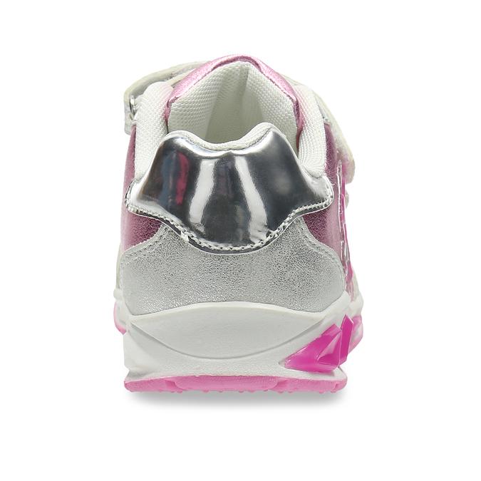 Růžové dětské tenisky se stříbrnými detaily mini-b, růžová, 221-5623 - 15