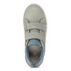 Dětské ležérní tenisky na suché zipy mini-b, šedá, 411-2618 - 17