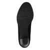 Dámské černé lodičky na stabilním podpatku bata, černá, 629-6603 - 18
