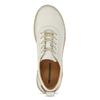 Bílé dámské kožené tenisky s perforací weinbrenner, bílá, 546-1601 - 17